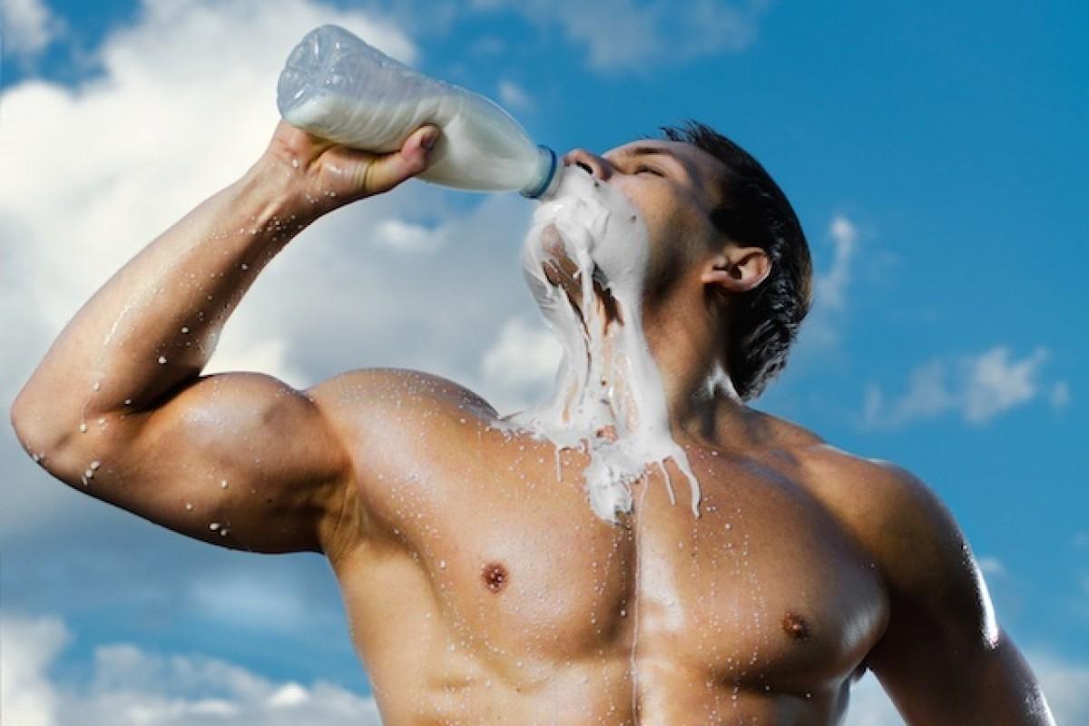 Чи корисне молоко для бодібілдерів?