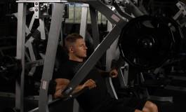 Жими в тренажері для побудови м'язів грудей