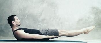 Вправа розтягування ніг одночасно (Double Leg Stretch)