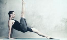 Вправа підйом ноги з упором на руки (Leg Pull Back)