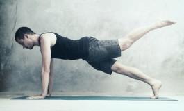 Вправа підйом ноги в упорі лежачи (Leg Pull Front)